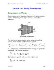 Lecture 15 Steady Flow Devices