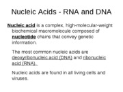lecture notes-biochemistry-4-Nucleic Acids