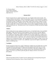 brief 5 mba 733