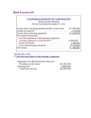 Chapter 4   The Income Statement and Statement of Cash Flows13