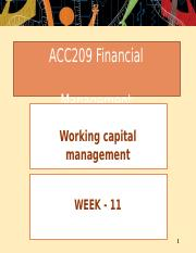 Week 11 - Working capital management.pptx