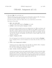 CSE 6421 Assignment 2