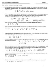 fundamental counting principle worksheet with answers pdf