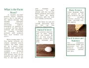 Farm Store Pamphlet white