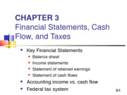FINC 3310Chapter 03 POWERPOINT