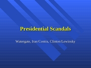 Presidential+Scandals+II