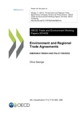 Environment and Regional Trade Agreements OECD 2014