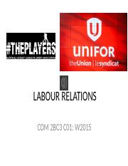 CH 11 Narrated LABOUR RELATIONS (1)