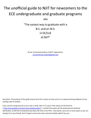 19926213-NJIT-s-Unofficial-Guide-to-ECE-for-Newcomers-v1-For-EEs-and-CoEs-Undergrad-and-Grad-Student