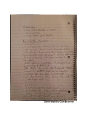 Biomedical therapy notes