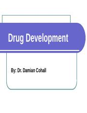 MBBS (Drug Development_Lecture 2 08 09 2015