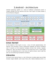 3.Android - Architecture