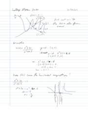 College Algebra Notes - 3.6 - Additional Insights into Rational Functions