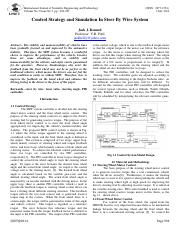 Control Strategy and Simulation In Steer By Wire System .pdf