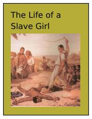 The Life of a Slave Girl.docx