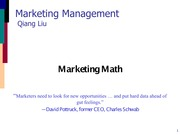 02 - Marketing Math-2015