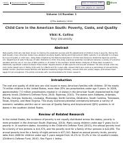 Child Care in the American South: Poverty, Costs, and Quality.pdf
