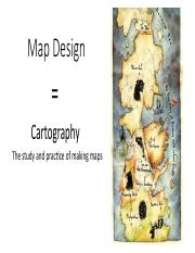 LECTURE 04 Map Design