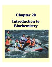 general chemistry-Chapter20