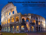 Early Christianity & the Roman Empire Powerpoint