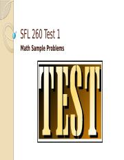 F15 Test 1 Sample Test Problems.pptx