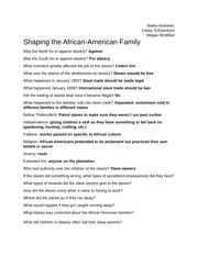 Group+4+-+The+African+American+Family