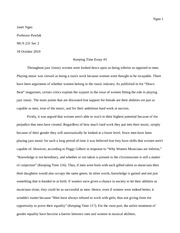 keeping time essay #3