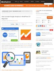 How to Install Google Analytics in WordPress for Beginners.pdf