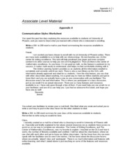 appendix a communication styles worksheet To complete unit 2 the tutor/assessor must complete the observation sheet in appendix c  least six communication  learner worksheet 18 leadership styles.