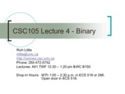 Lect4_Binary