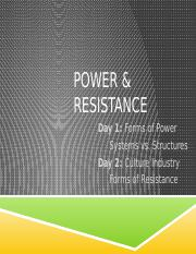 wk 14A Power and Resistance 2016.pptx
