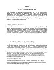 TOPIC 3 History of the law _Roman Law 2018_.doc