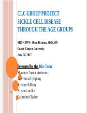 CLC Project Sickle Cell Disease (1).pptx