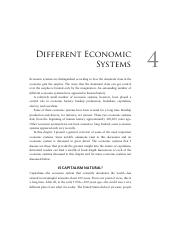 04-Different Economic Systems