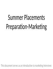 W1S1 - 1 - Marketing Prep