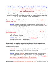 6.09 Examples of Using Direct Quotations in Your Writing.docx