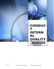 TLIJ5007A Conduct Internal Quallity Audits.doc