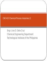 CHE 410 Chemcal Process Industries  (part 1).pptx