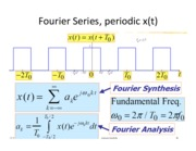 Lecture 4 - Fourier Series