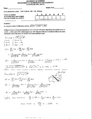 Math 215 Test 2 Fall 2003