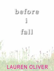 Before I fall by Lauren Oliver.pdf