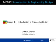 Session 1.1 - Introduction to Design