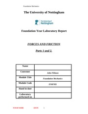 Forces and Friction lab template1