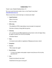 Criminal Justice Study Guide_Test 1