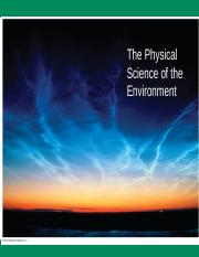 Environmental Science and Society ENVS 260