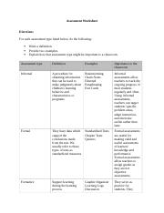 Assessment Worksheet Sub.docx