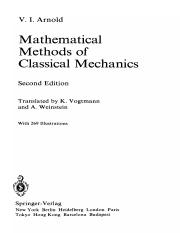 V. I. Arnold Mathematical Methods of Classical Mechanics (Graduate Texts in Mathematics)  1989.pdf