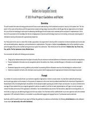 IT 335 Final Project Guidelines and Rubric(1)