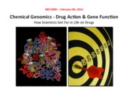 MGY200H Chemical Genomics