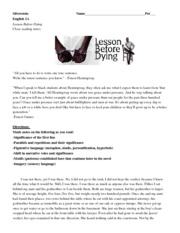 Lesson_before_dying_close_reading_chapter_one